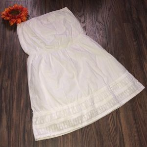 👗 GAP Strapless Summer Dress MEDIUM